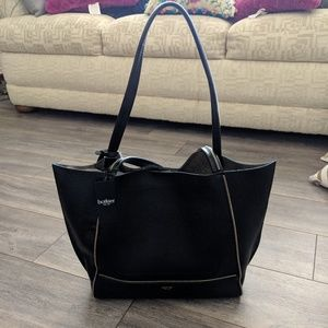 Sale! Botkier Soho Tote Black/Gold